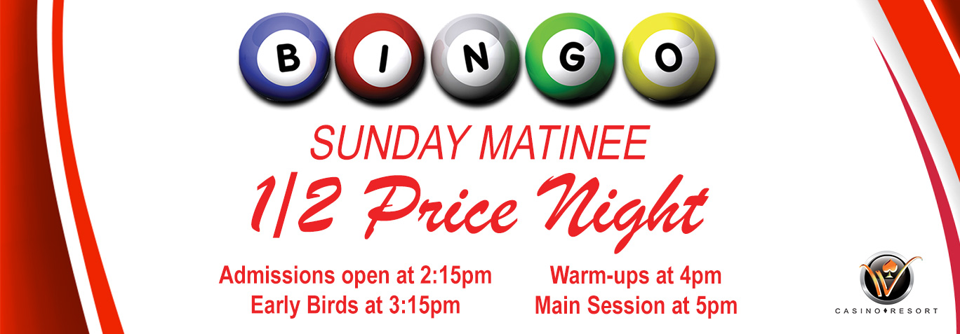 Sunday Matinee (Every Sunday)