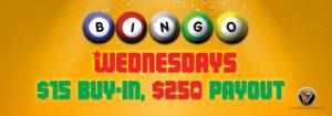 Wednesdays $250 Payout (Every Wednesday)
