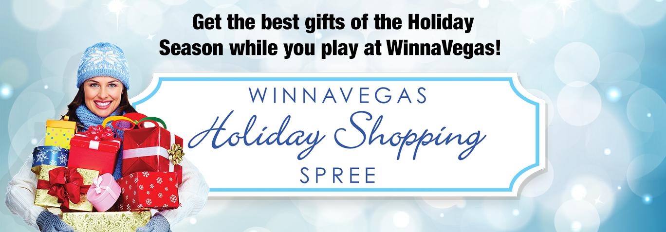 WinnaVegas Holiday Shopping Spree