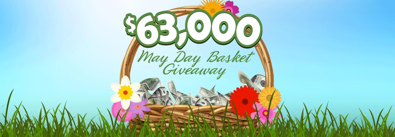 $63,000 May Day Basket