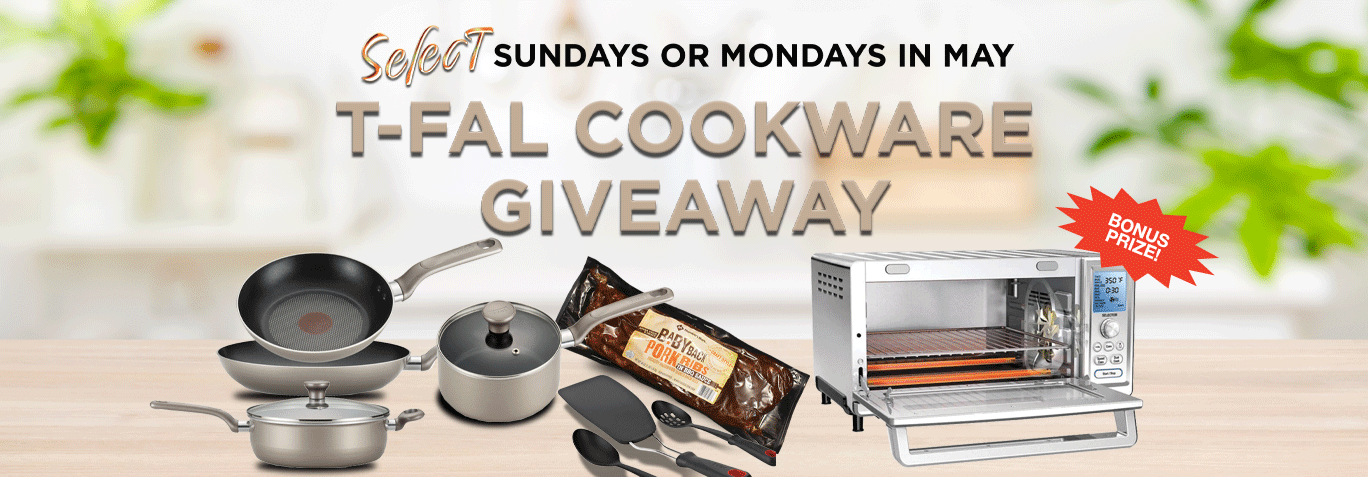 T-Fal Cookware Giveaway